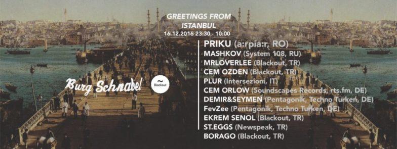 Blackout Istanbul meets Berlin